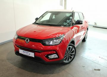 SsangYong Tivoli 1,6DS Seoul Limited RED Edition be bei Benda & Partner Autohaus GmbH in Wien