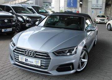 Audi A5 Cabrio 2,0 TFSI S-tronic bei Benda & Partner Autohaus GmbH in Wien