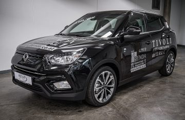 SsangYong Tivoli 1,6 4WD Icon  !!!VOLL!!! Aut. bei Benda & Partner Autohaus GmbH in Wien
