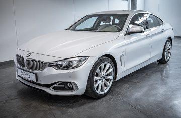 """BMW 420i Gran Coupe Aut. """"Modern Line"""" Exclusive  LEDER 420i Gran Coupe Aut. Modern Line Exclusive bei Benda & Partner Autohaus GmbH in Wien"""