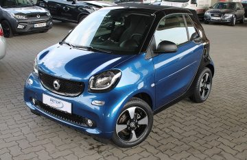Smart smart fortwo cabrio Passion twinamic Aut.  5.000km bei Benda & Partner Autohaus GmbH in Wien