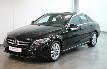 Mercedes-Benz C 220 d Aut. 9-Gang  AHK / Advantgarde Paket / Distronic Pro / Navi bei Benda & Partner Autohaus GmbH in Wien